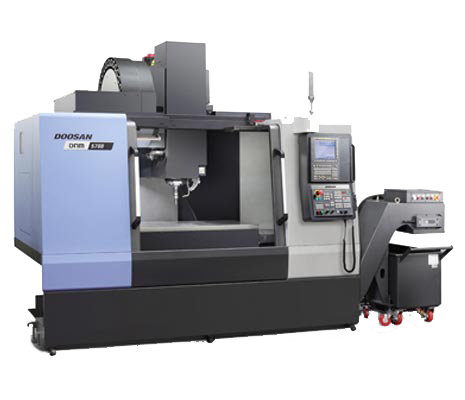 Doosan DNM5700 15K with Samchully 4th axis attachment